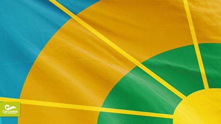 La bandera fue creada por el vecino Genaro Bonet.