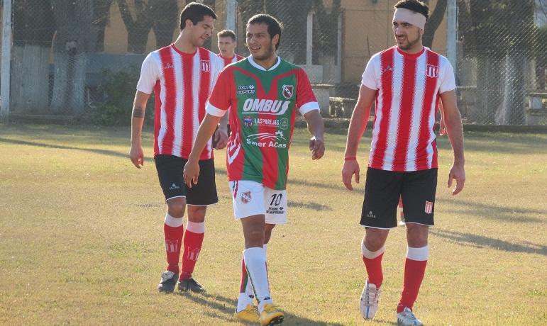 Ezequiel Lazo, uno de los puntos altos de Sportivo en Pujato.