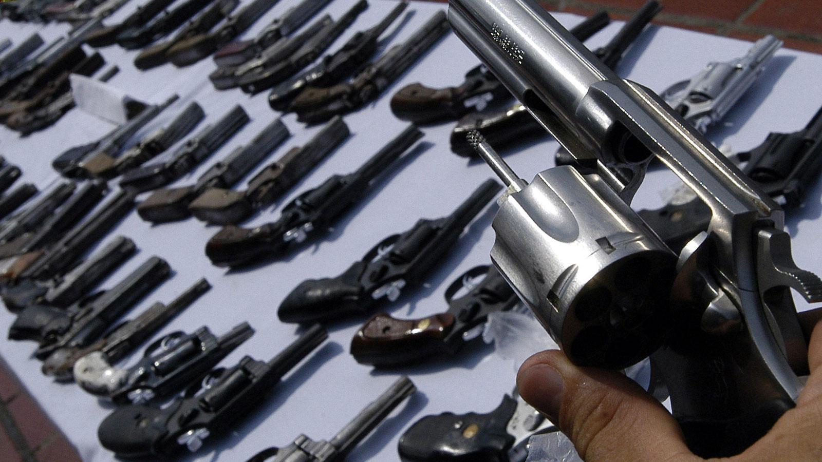 ANMAC posterga el Programa Nacional de desarme Voluntario
