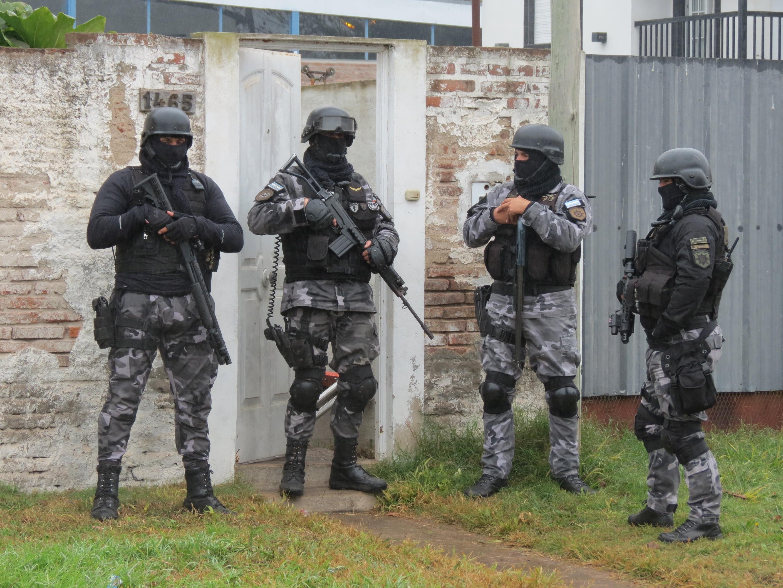 Se produjeron diez allanamientos en Casilda. Hay doce detenidos.