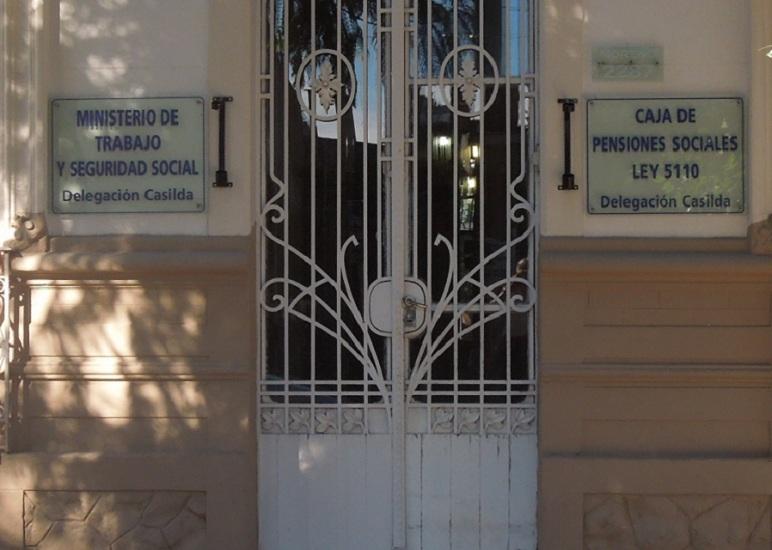 La sede del Ministerio de Trabajo y Seguridad Social recibe a los jubilados de Casilda.