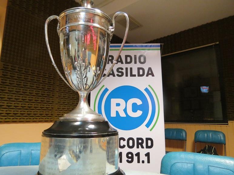 Tras ganar el 78° Campeonato Argentino de Profesionales, Marelli visitó Radio Casilda.