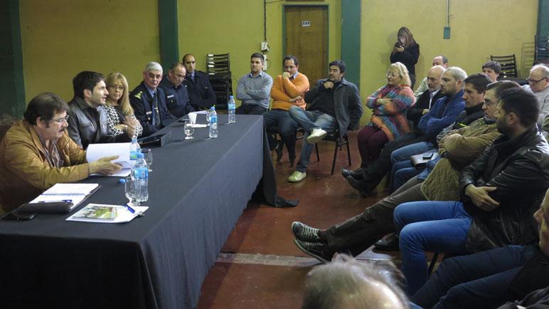 La reunión fue el sábado en Chabás.