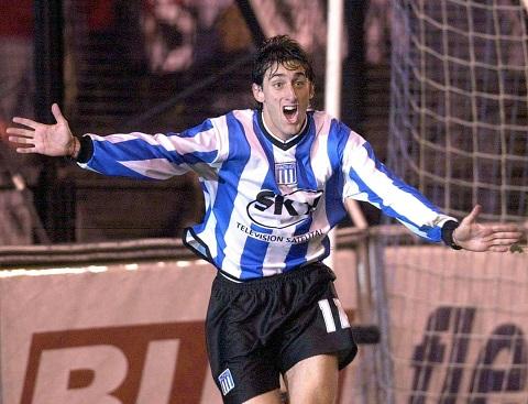 El goleador en sus inicios en Primera. Debutó gracias a la dupla Costas - Maschio.