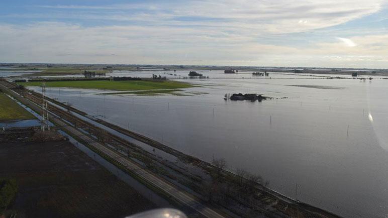 Algunos sectores permanecen muy afectados por el agua.
