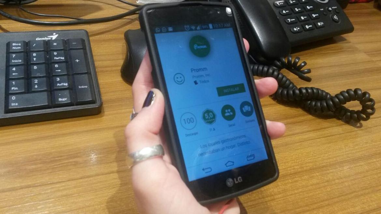 La aplicación se encuentra en celulares con el sistema Android, y es de descarga gratuita.