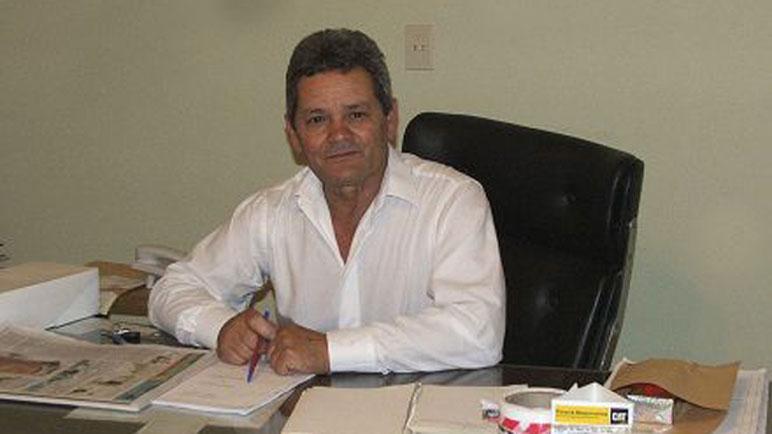 Oscar Coppari, en su último día de gestión. Foto gentileza San José Virtual.