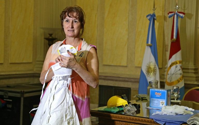 Andrea Uboldi, brindó su testimoni en función de las réplicas en Santa Fe.