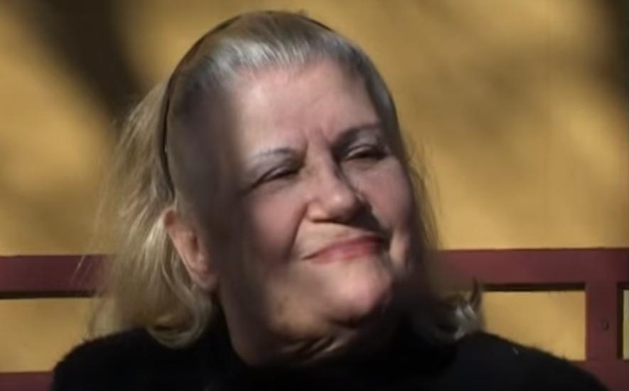 Rita un año antes de ingresar al geriátrico (Youtube)