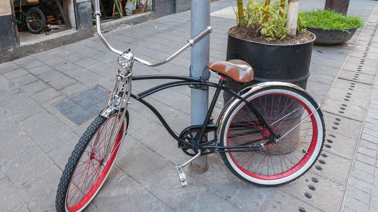 Las bicis en la vía pública son blanco del delito. Foto ilustrativa.