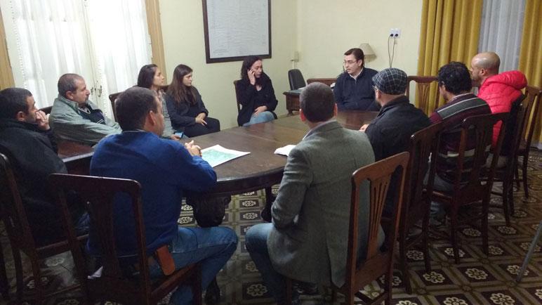 La reunión se desarrolló en el palacio municipal.