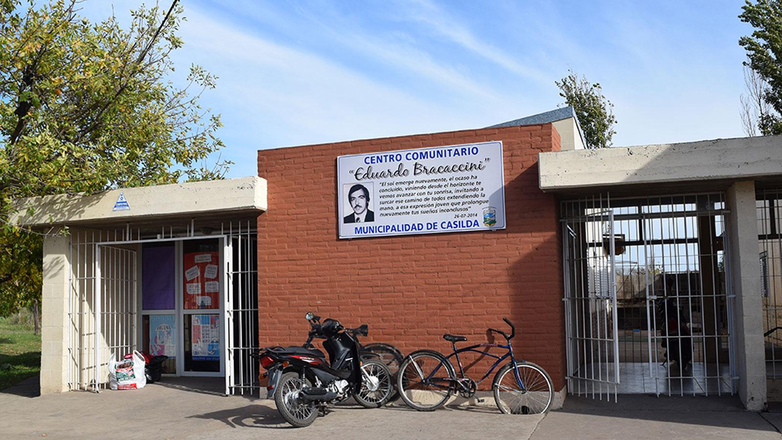 El Centro Comunitario donde se realizó la reunión