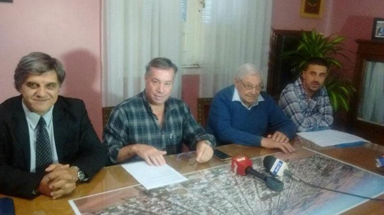 Daniel Zúker, José Luis Rodríguez y Reinaldo Corvaro.