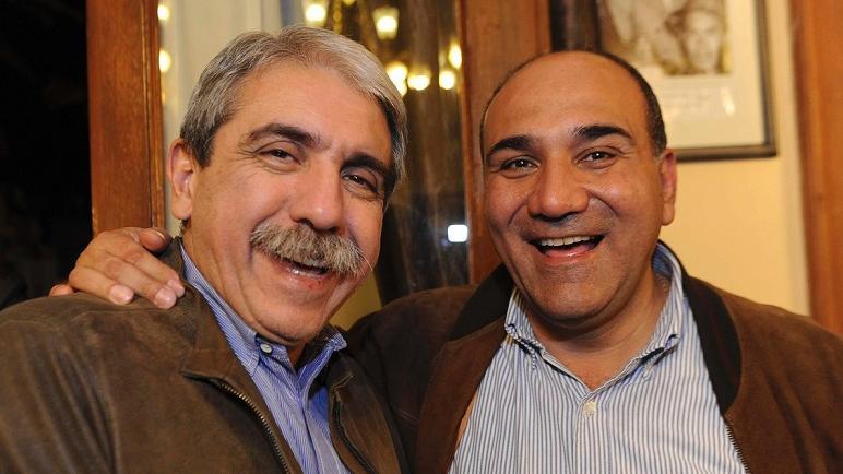 Fernández y el actual gobernador tucumano, Manzur: en la mira.