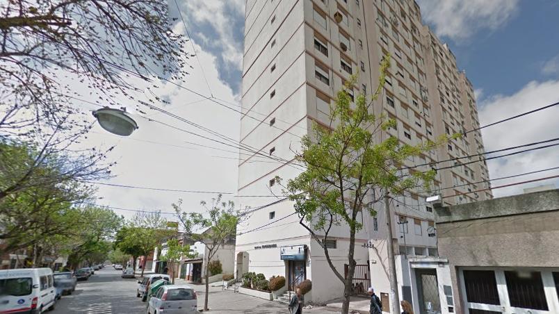El edificio de Cochabamba 45, uno de los principales afectados.