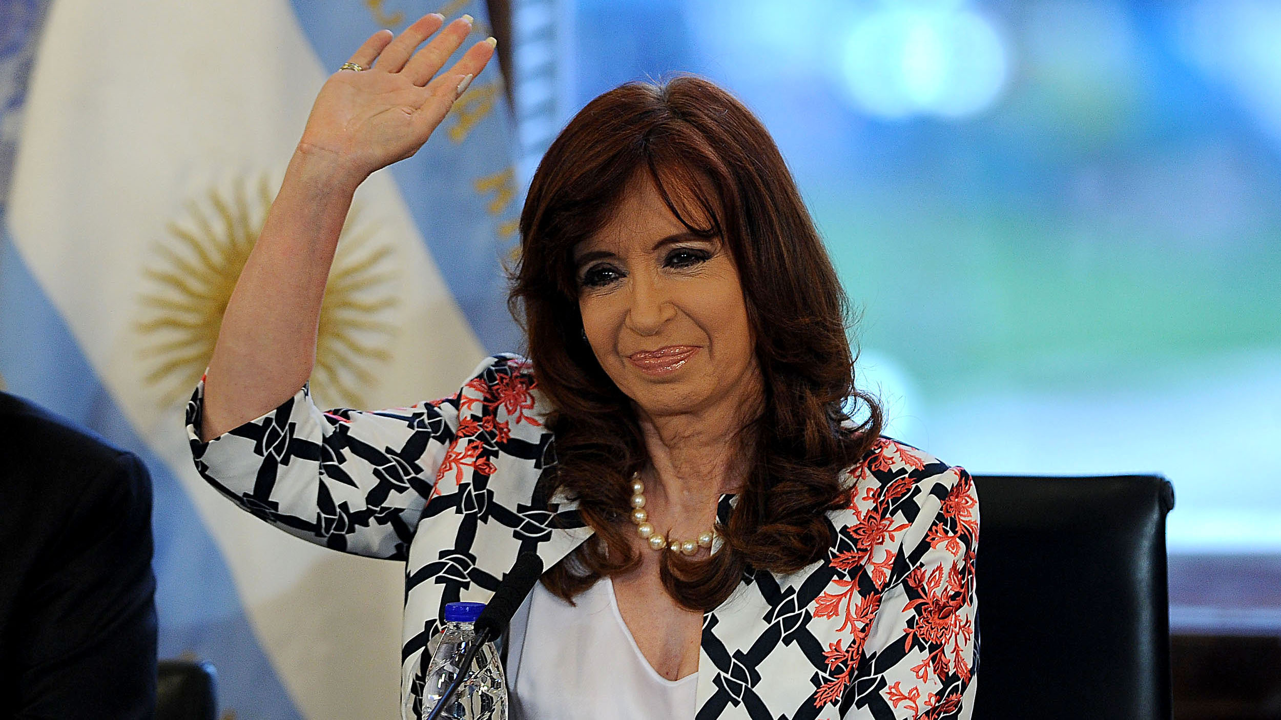 Cristina habló por primera vez después de las elecciones.