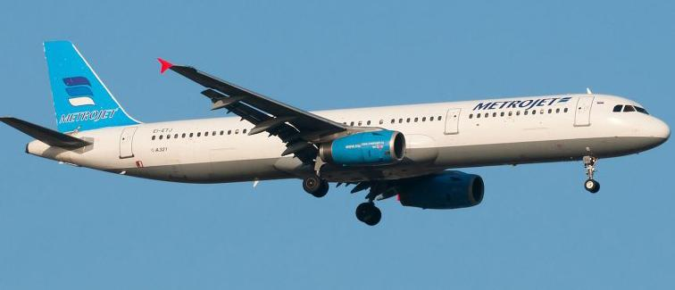 El avión ruso llevaba 224 pasajeros