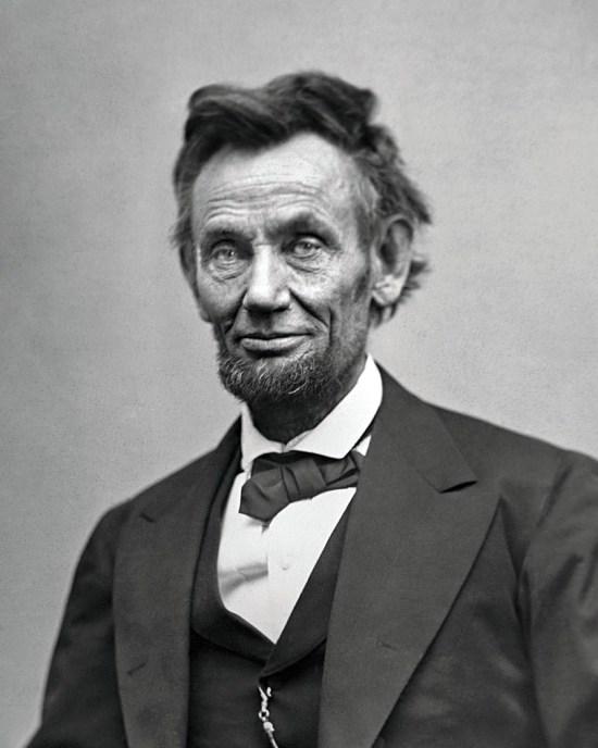 Don Lincolnera testarudo y líder, como su nariz.