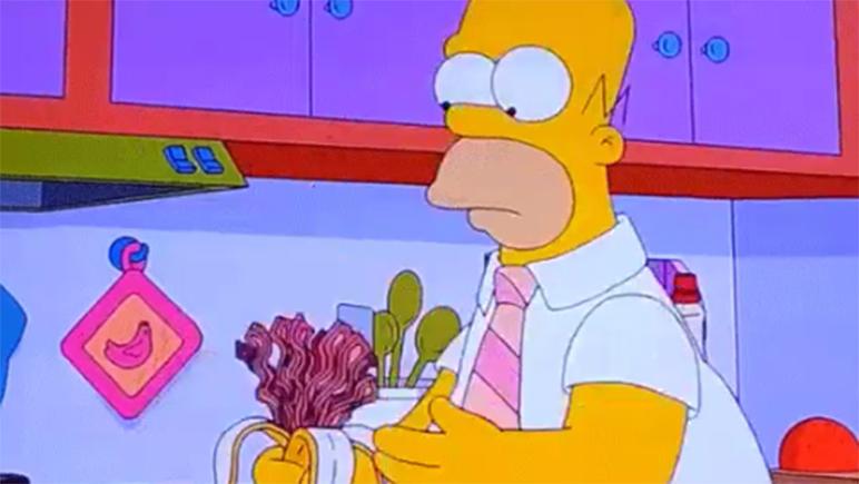 Homero estará muy preocupado con esta información.