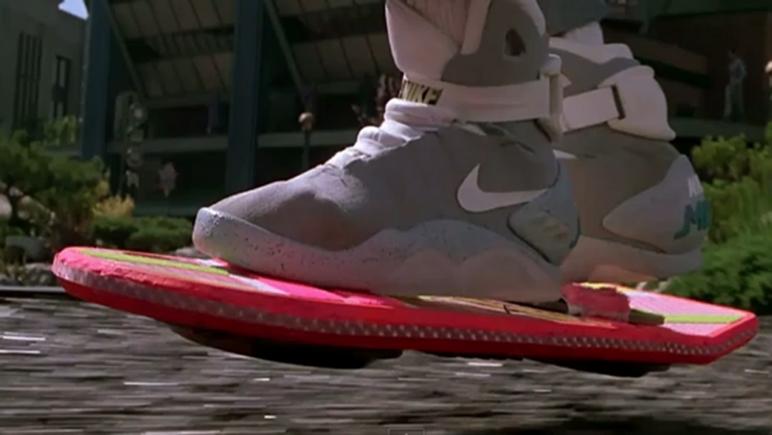 Las Nike que llevaba siempre Marty llegaron al presente