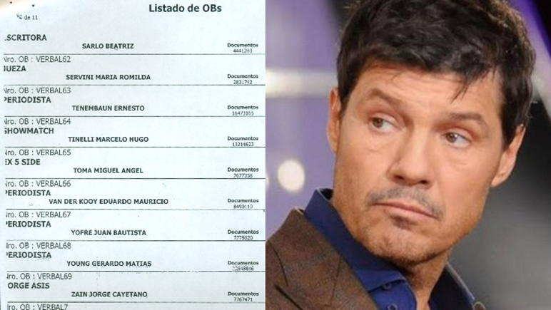 Marcelo Tinelli fue uno de los que anunció denuncia por el caso