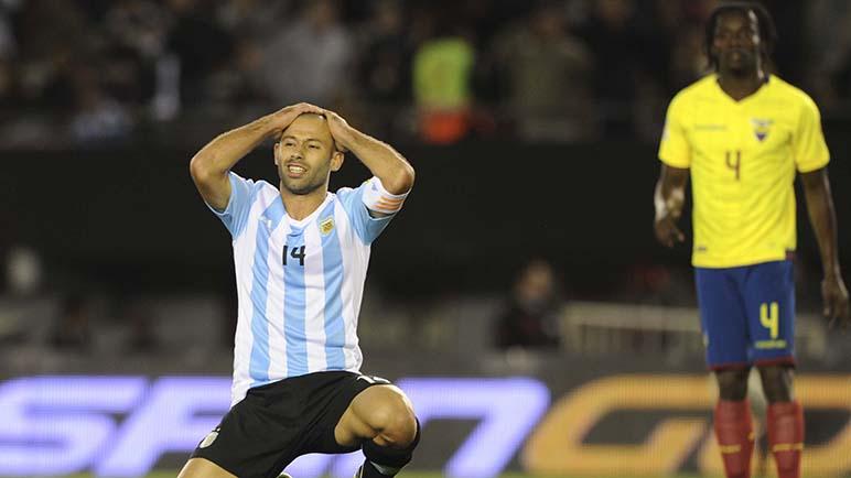 Todo mal. Argentina no pegó una y perdió.