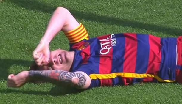 Dolor de cabeza para Messi y familia.