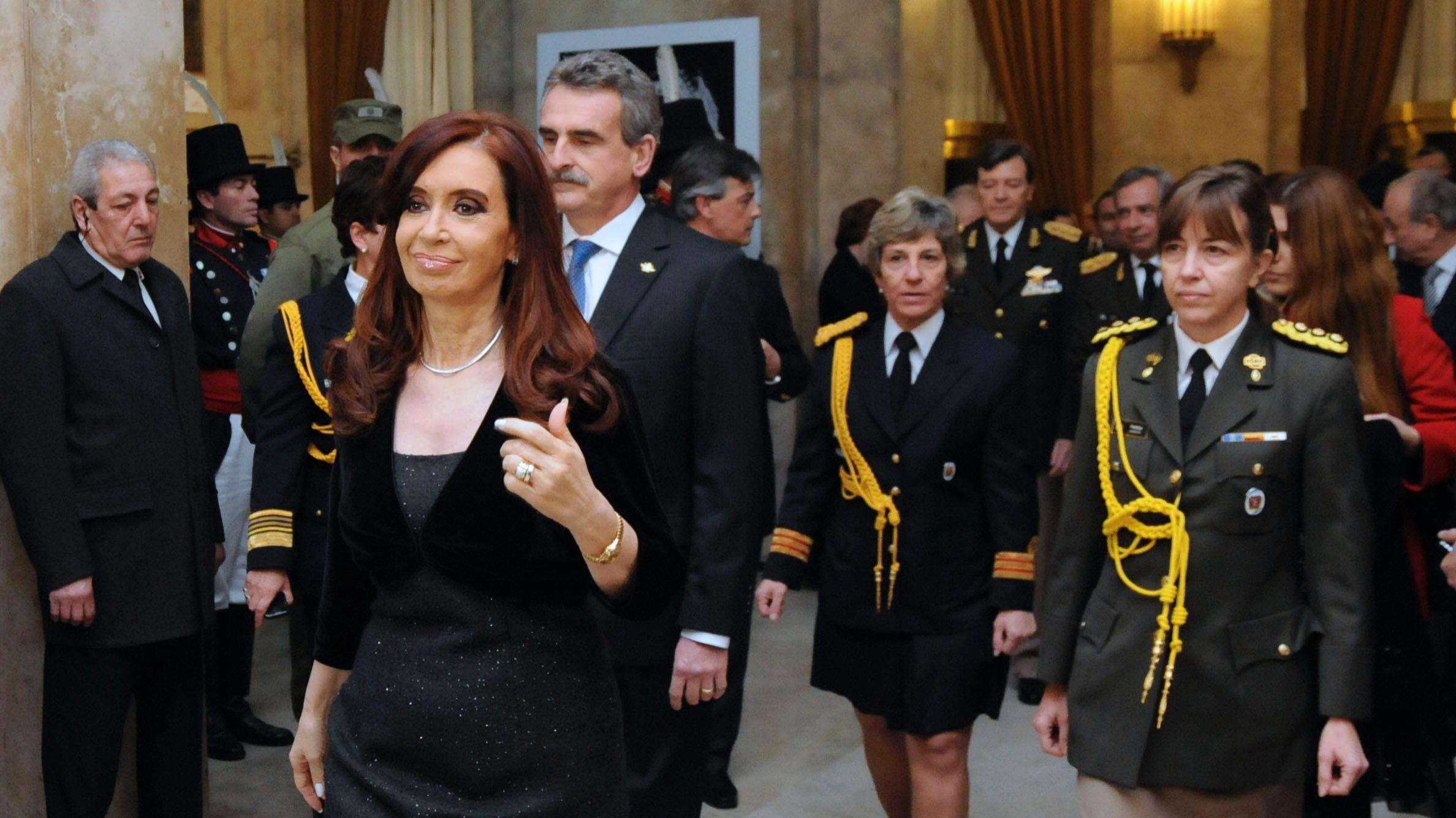 La edecana de Cristina, María Isabel Pansa, ahora será elevada al rango de generala