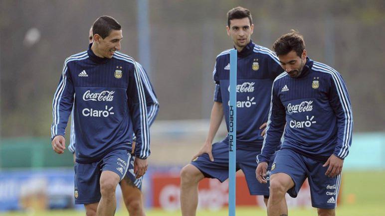 Di María, Pastore y Lavezzi, tres con chances de jugar.