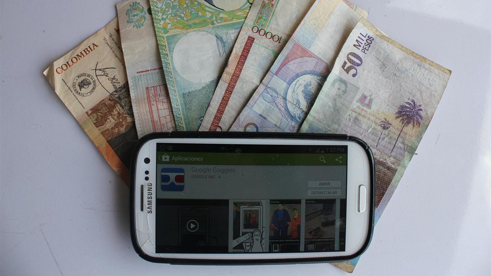 Los ciegos podrán detectar billetes falsos desde el celular o tablet gracias al INTI