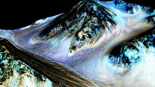 Agua en Marte. Yupi.