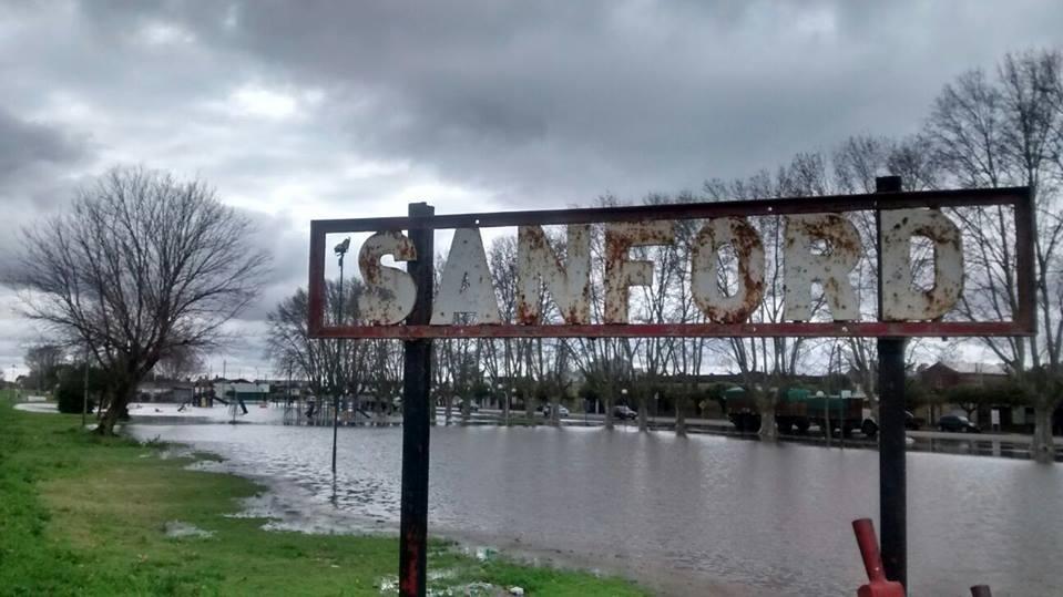 El aliviador de la zona de Sanford ocasionaría problemas en otras comunas