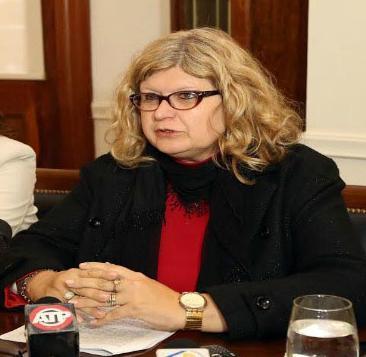 Claudia Balagué, ministra de Educación.