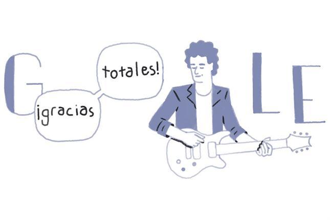 La ilustración que homenajea a Cerati en el inicio de Google