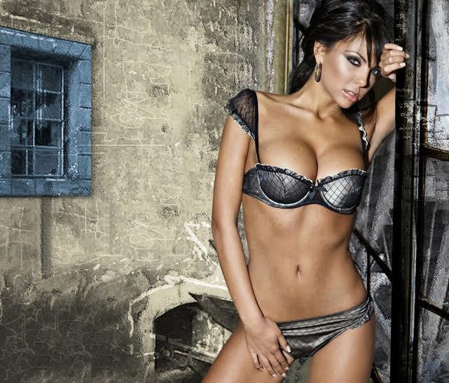 Sí, en Bulgaria también hay modelos y son así: grande Nikoleta!