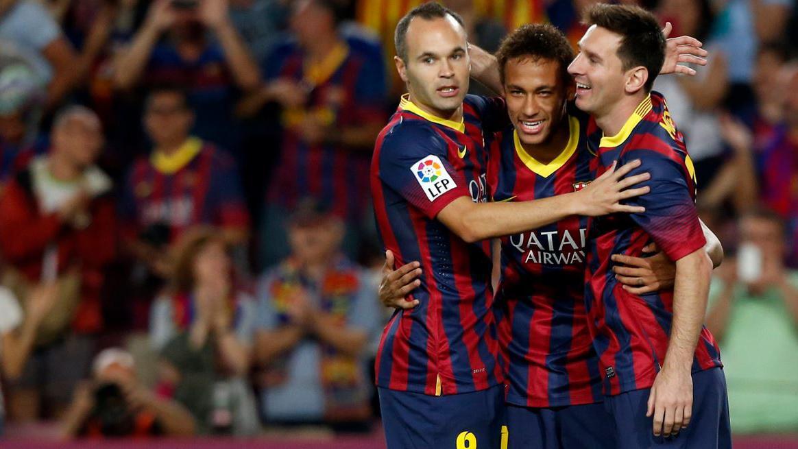 Iniesta, Messi y Neymar deberán enfrentar al poderoso Bayern Munich