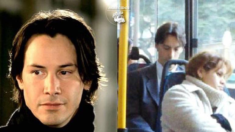 Keanu es un chico muy modesto, siempre va en transporte público.