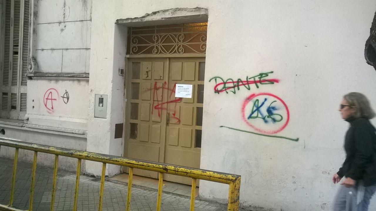 La puerta del Sagrado Corazón. Foto: Rosario Plus