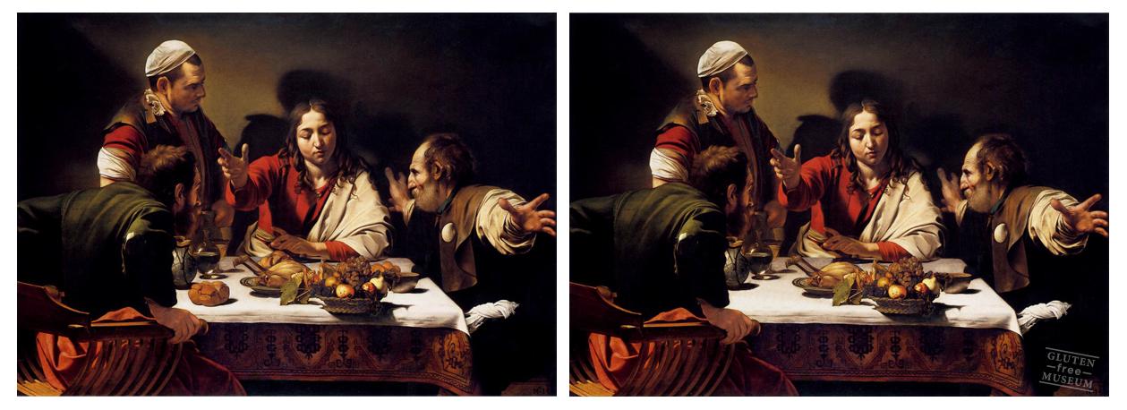 """""""¡Les dije que seencarguenustedes del pan, muchachos!"""".Caravaggio"""