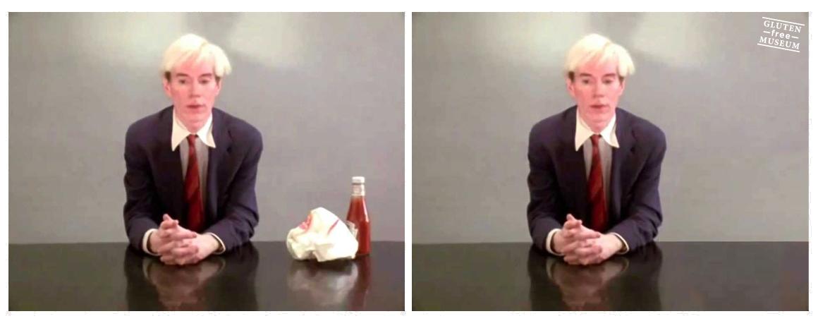 """""""¿Alguien sabe quién se llevó mi hamburguesa?"""" No, Andy, lo sentimos."""