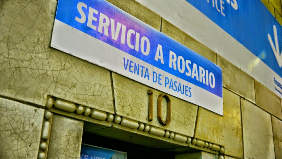 La venta de pasajes rumbo a Rosario fue un éxito(Foto: Rosario Plus)