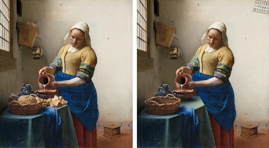 Al final, qué habrá desayunado la señora. Obra de Johannes Vermeer