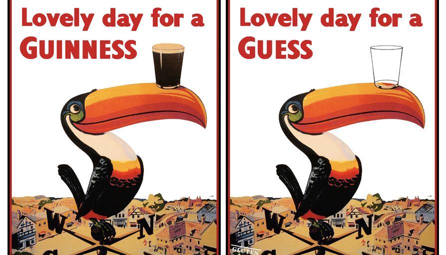 Publicidad de cerveza Guinness