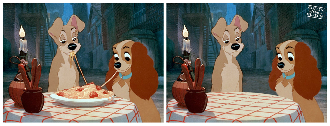 Nunca se hubiesen besado los perritos europeos de Walt Disney