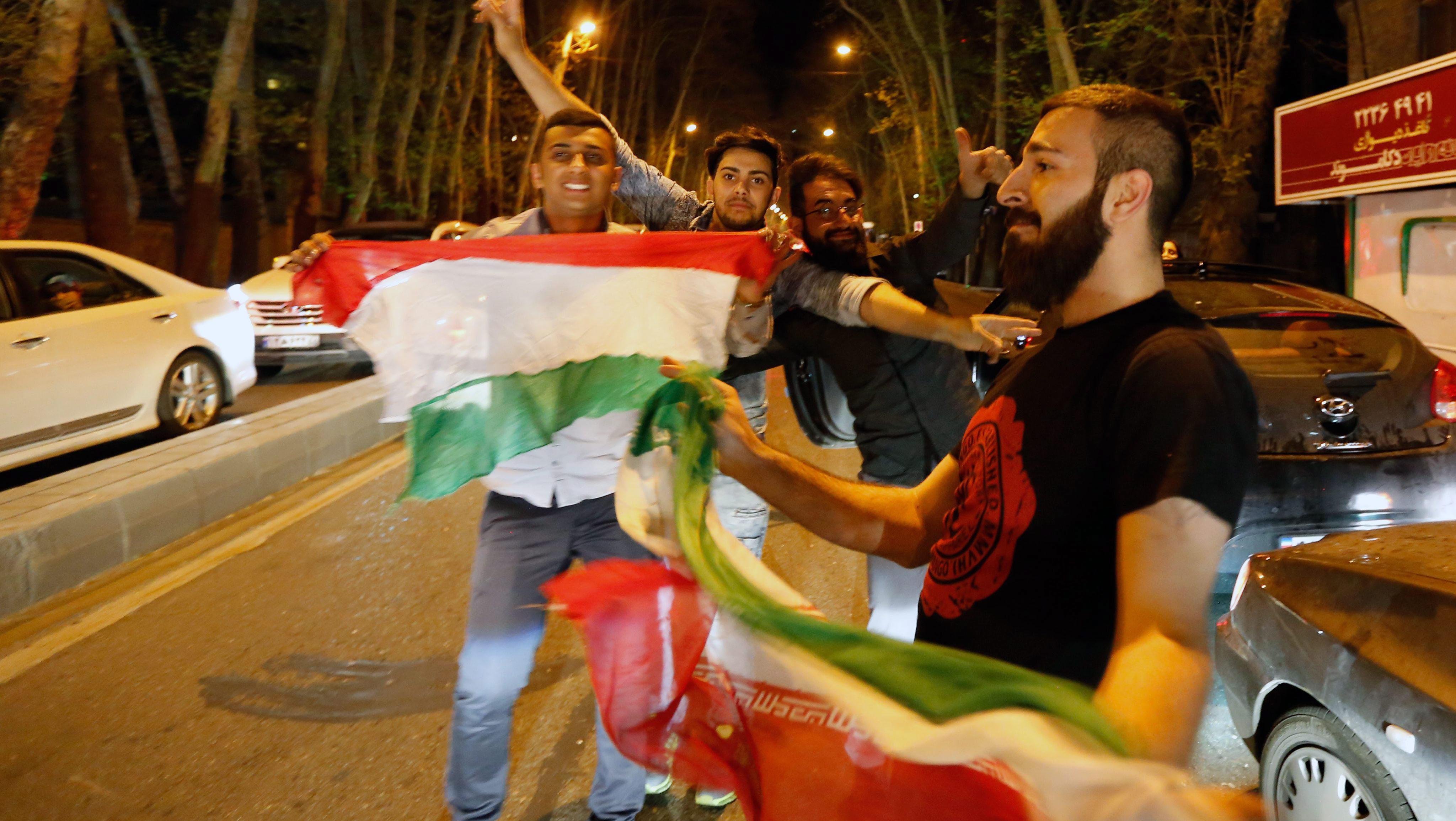 Los iraníes festejan en las calles el acuerdo atómico con Occidente