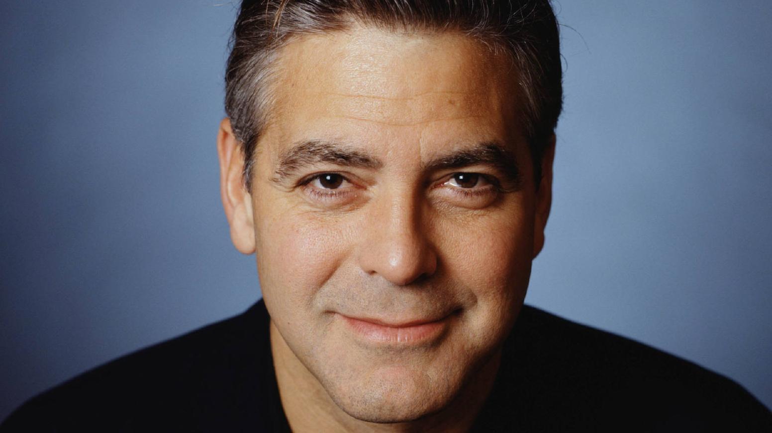 George Clooney, un eterno seductor.