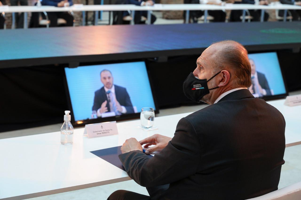 Omar Perotti y una decisión que puede ser determinante