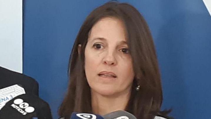 Fiscal regional María Eugenia Iribarren.