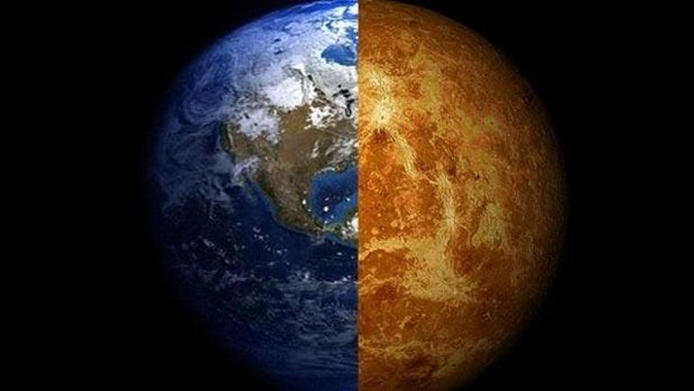 La Tierra y Venus. ¿Hermanados por la vida?