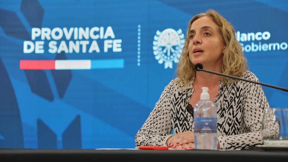 Carolina Cudos, directora de epidemiología habló sobre la duplicación de testeos.